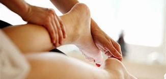 Image massage jambes